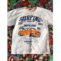 Camiseta Tricae tamanho 6 - 6 anos - Tricae