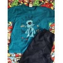 Conjunto camiseta e bermuda tamanho 6 - 6 anos - Loopy de Loop