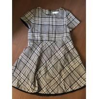 Vestido xadrez Zara tamanho 13/14 - 14 anos - Zara