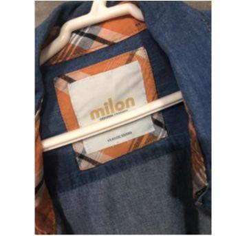 Camisa jeans Milon tamanho 8 - 8 anos - Milon
