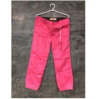 Calça linda em tecido tamanho 6 - PINK - 6 anos - Mily