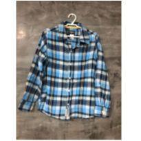 Camisa de flanela OshKosh tamanho 7 - 7 anos - OshKosh
