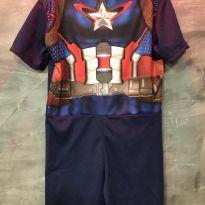 Fantasia Capitão América - 6 anos - Não informada