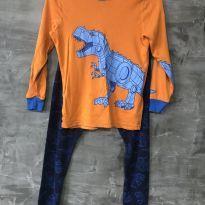 Pijama Dino tamanho 8 - 8 anos - Kirkland