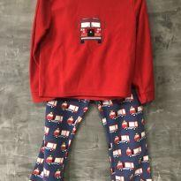 Pijama bombeiro em fleece tamanho 8 - 8 anos - M Kids
