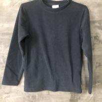 Blusa em fleece tamanho 10 - 10 anos - Desconhecida