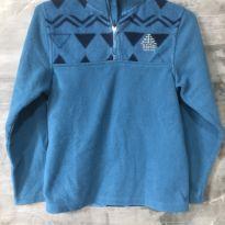 Blusa em fleece azul claro tamanho 10 - 10 anos - Berg