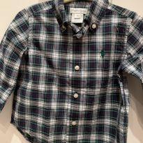 Camisa social Ralph Lauren - 9 meses - Ralph Lauren