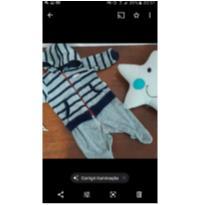 Macacão plush - 6 meses - Keko Baby