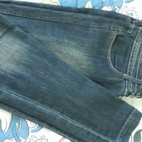 Calça Jeans 38 - Feminina Skinny - P - 38 - BLUE STEEL(RENNER)