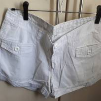 Shorts Feminino Sarja branco - 40 - M - 40 - 42 - Sem marca