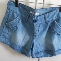 """Shorts Jeans """"molinho"""" feminino - 38 - P - 38 - marisa"""