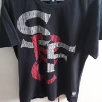 Camiseta SPC - Preta - P - P - 38 - Sem marca