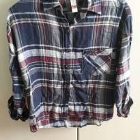 Camisa Xadrez Feminina - 38 - P - 38 - marisa