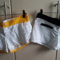 02 Shorts Praia - G - G - 44 - 46 - Yellow