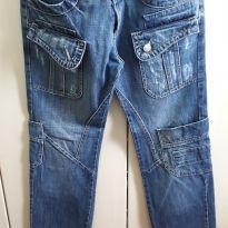 Calça Jeans Masculina - 44 - Leporello Bag - G - 44 - 46 - Leporello