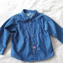 Camisa Jeans - Tip Top - 02 anos - 2 anos - Tip Top