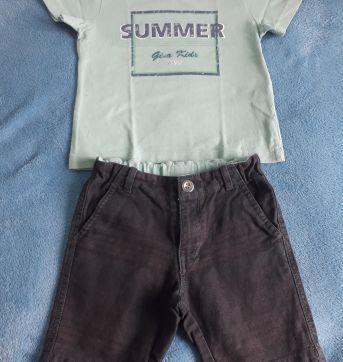 Conjunto Bermuda e Camiseta - Gira Baby 02 anos - 2 anos - GiraBaby