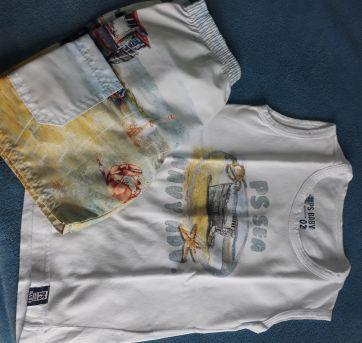 Conjunto Regata e Bermuda  - Barco 02 anos - 2 anos - PS baby