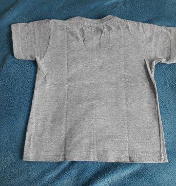 Camiseta Cinza - TK 02 anos - 2 anos - TK