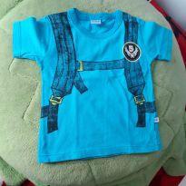 Camiseta azul - Abrange 02 anos - 2 anos - Abrange