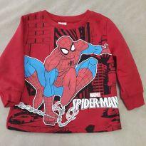 Moletom Homem Aranha - 02 anos - 2 anos - Spider Man