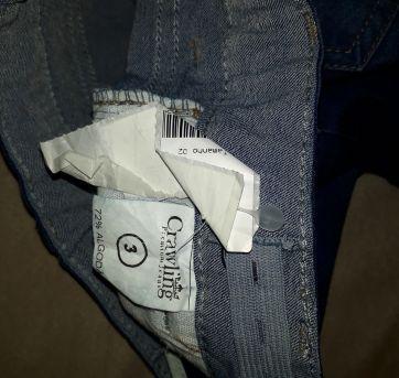 Calça Jeans - 03 anos - 3 anos - Crawling