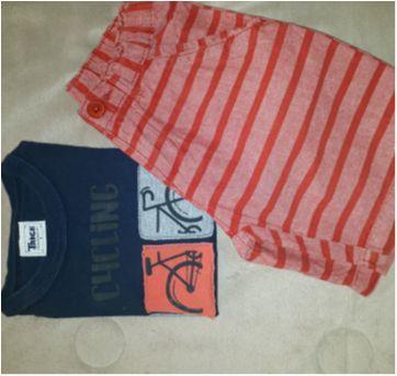 Conjunto Bermuda e Camiseta - 03 anos - 3 anos - Trick