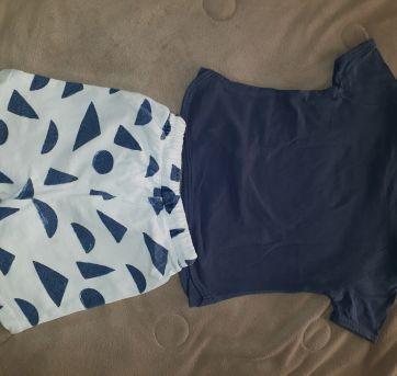 Conjunto Short`s e Camiseta - ZARA - 3 anos. - 3 anos - Zara Baby