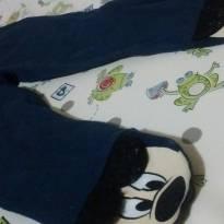 Calça pezinho Mickey - 6 a 9 meses - Disney baby