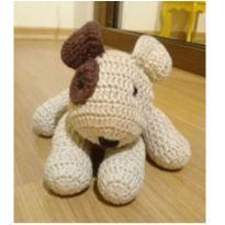 Cachorro Cachorrinho em crochê -  - Feito à mão