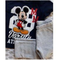conjunto mickey mouse - 1 ano - Disney