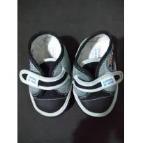 Sapato cinza- Tam 17 - 17 - Carinha de Nenê