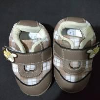 Sapato Marrom claro- Tam 17 - 17 - Carinha de Nenê