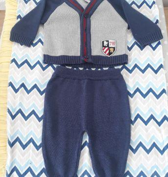 Conjunto Tricot - Recém Nascido - Paola tricot
