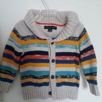 Blusa Tricot - 6 a 9 meses - Tommy Hilfiger