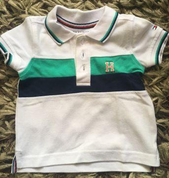 Polo tommy - 3 a 6 meses - Tommy Hilfiger