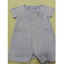 Romper veludinho Baby Gap - 6 a 9 meses - GAP e Baby Gap