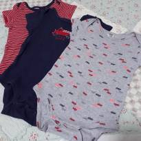 Kit 3 bodies carter`s - 9 a 12 meses - Carter`s