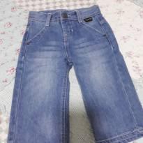 Calça Jeans Tigor Novíssima - 6 a 9 meses - Tigor Baby