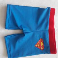 Sunga short super man - 3 a 6 meses - Club Baby