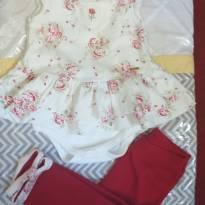 Conjunto luxo lilibee - 6 a 9 meses - Lilibee