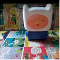 Brinquedinho do personagem Finn do desenho Hora da Aventura. -  - Mc Donald`s