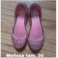 Sapatilha Melissa rosa - 30 - Melissa