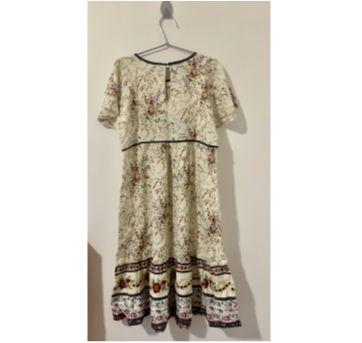 Vestido Floral Zara Girls - 8 anos - Zara