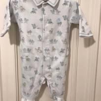 Macacao Baby Cottons Forrado - Recém Nascido - Baby Cottons