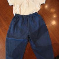 Conjunto calça  /Body Baby Cottons - 1 ano - Baby Cottons e Lion