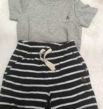 Conjunto Short/Body Gap - 18 a 24 meses - GAP