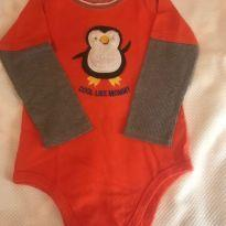 Body  Pinguin - 2 anos - Garanimals