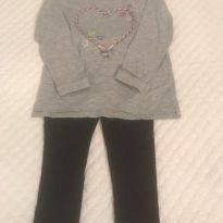 Conjunto Leg/Camiseta Gap - 4 anos - Zara Kids e Gap Kids